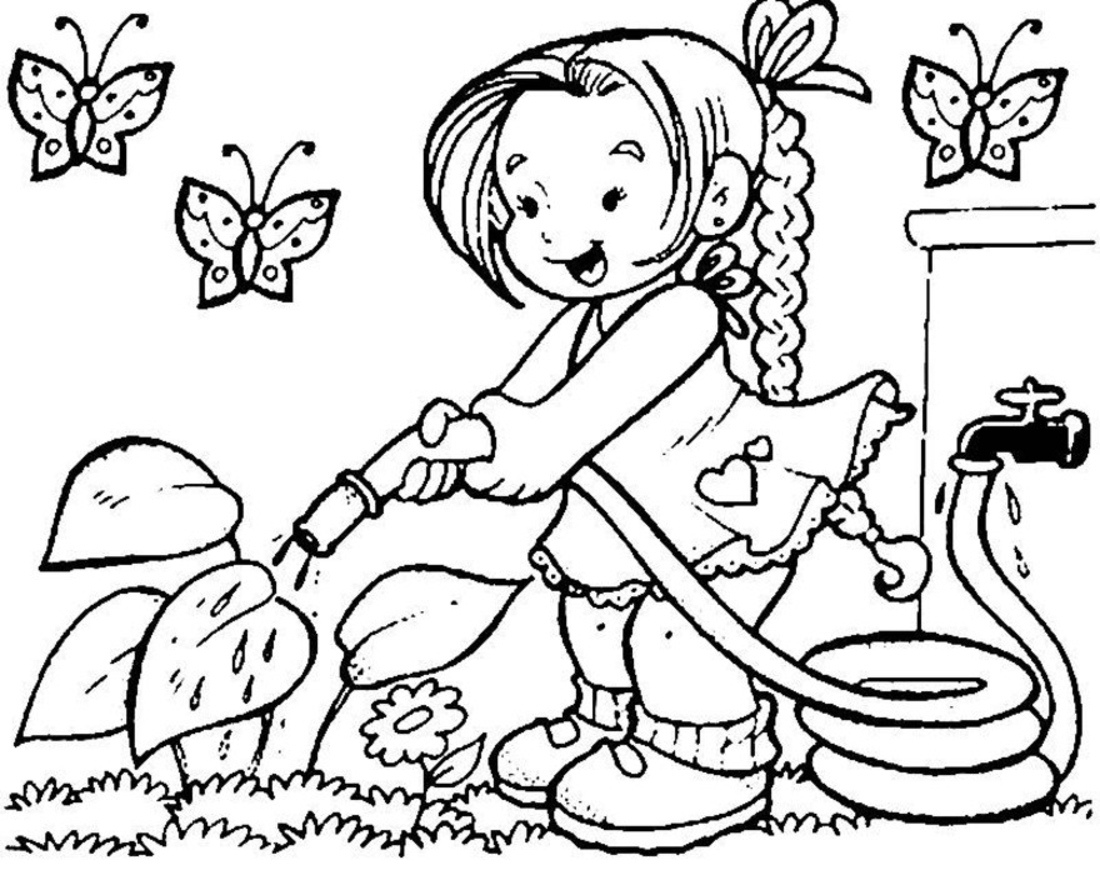 Spring season clipart black and white 4 » Clipart Station.