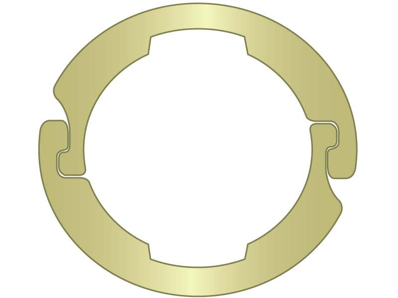 Interlocking External Shaft Ring 1/2