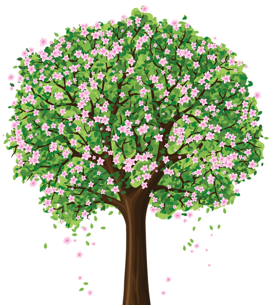 Spring Tree Clipart Transparent.