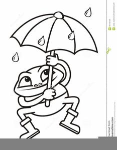 Spring Umbrella Clipart.
