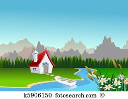 Mountain spring water Illustrations and Clip Art. 425 mountain.