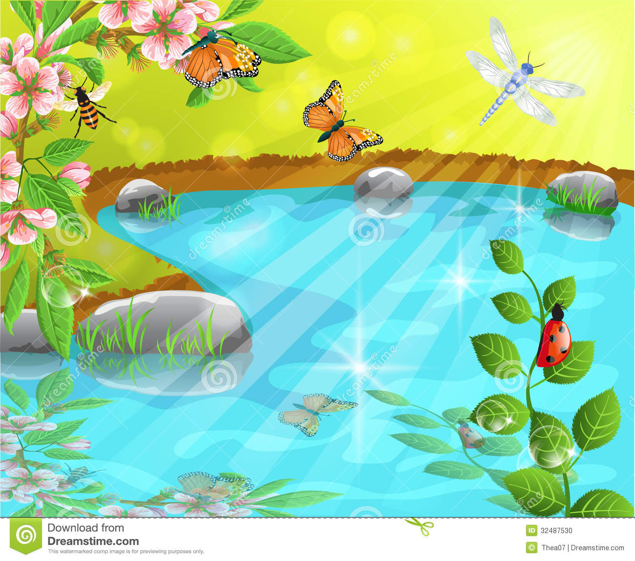Spring water clipart 20 free Cliparts | Download images on ...