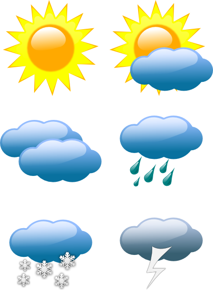 Spring Weather Clipart.