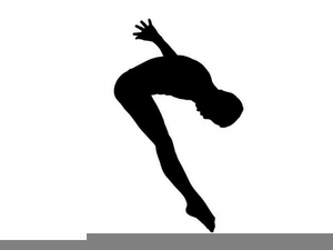 Free Springboard Diving Clipart.