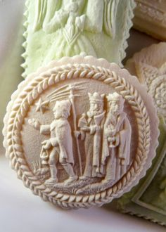 Nativity and Three Wise Men springerle cookie molds 1241 & 1240.