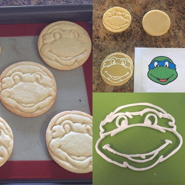 "Karen Barbara on Twitter: ""In progress. Made a cookie stamp."