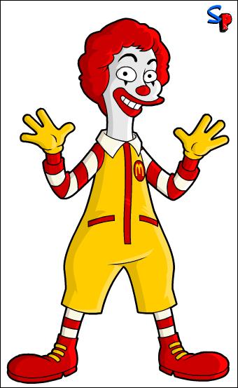 Ronald Mcdonald Clipart.