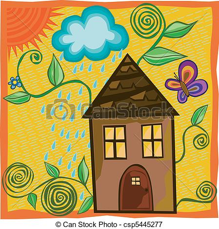 Springhouse clipart #12