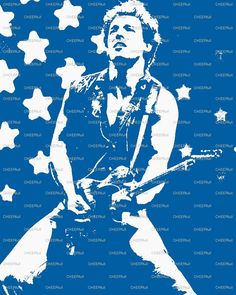 """Bruce Springsteen """"There's Magic In The Night""""."""