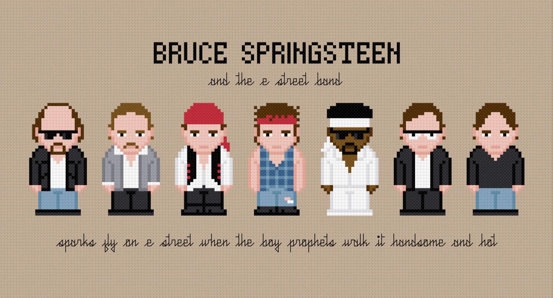 Bruce springsteen clipart.