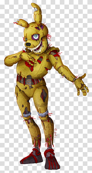 Springtrap transparent background PNG cliparts free download.