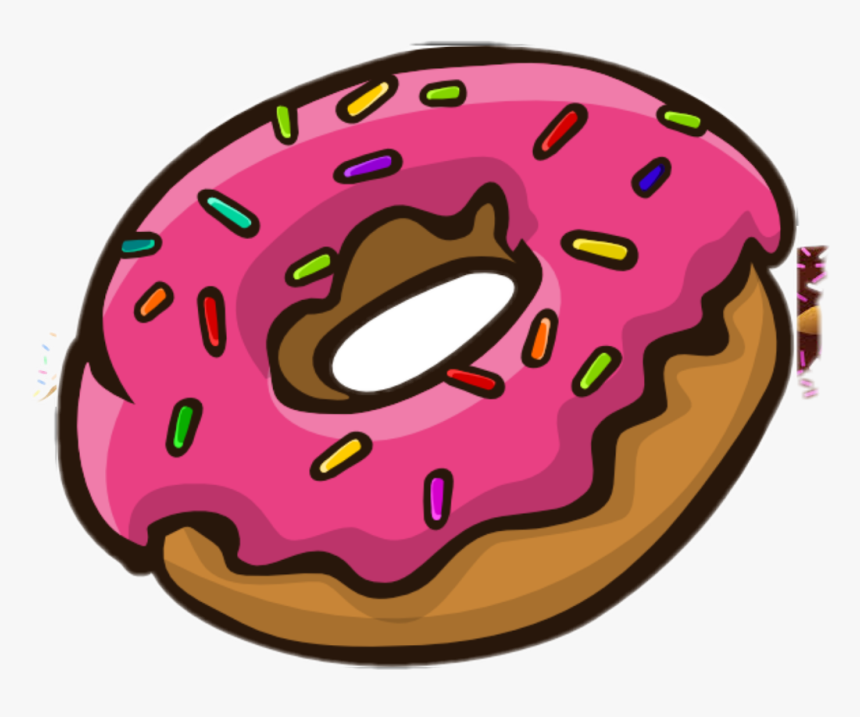 Donuts With Sprinkles Clipart.