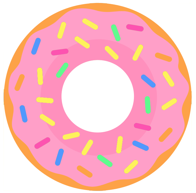 2771 Donut free clipart.