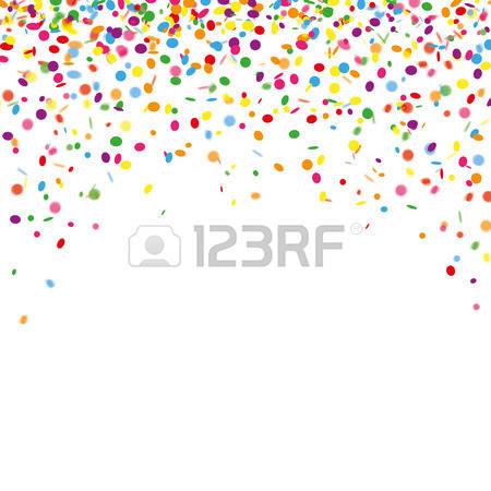 4,140 Confetti Rain Stock Vector Illustration And Royalty Free.