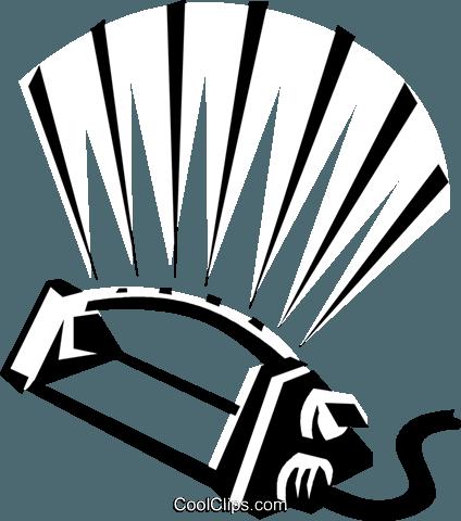 sprinkler Royalty Free Vector Clip Art illustration.