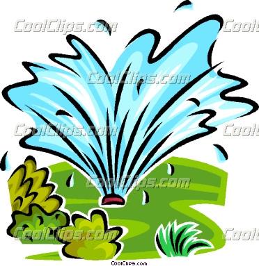 Sprinkler Clip Art.