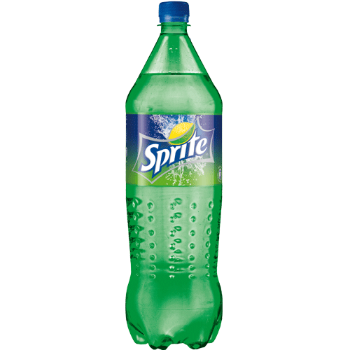 1.5 L Sprite in a Plastic Bottle PNG Image.