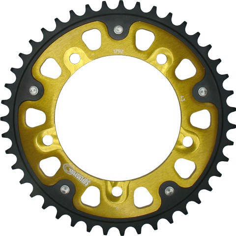 Supersprox rear sprocket for Triumph.