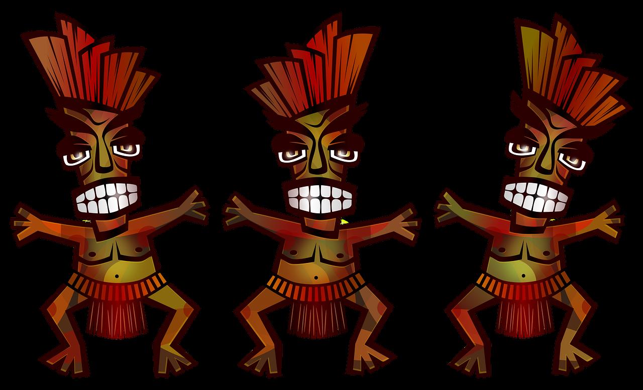 Polineziečių,tribal,šokis,vyrai,kultūra.