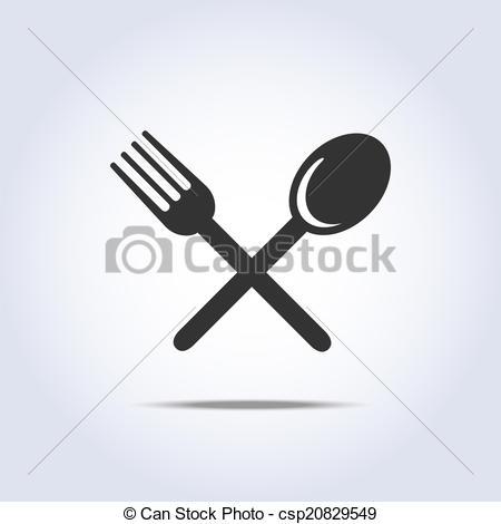 EPS Vector of fork spun icon.