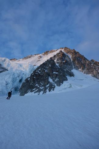 Migot Spur, Aiguille du Chardonnet 3824m.