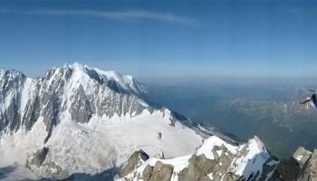 Climbing the Frendo Spur.
