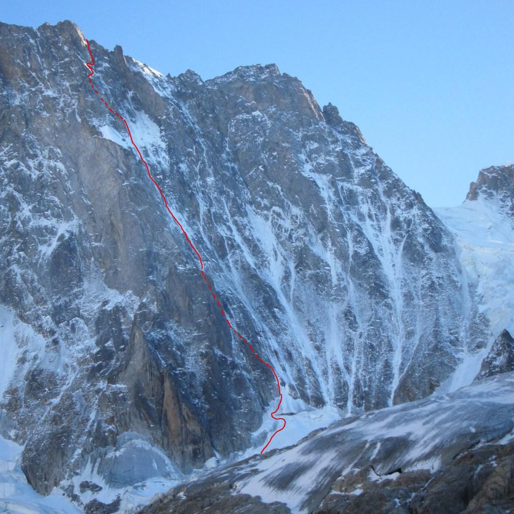 Alpine Climbs : Chamonix Topo.