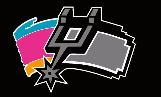 San Antonio Spurs: Half New and Half Old Logo Flag; 3\'x5.
