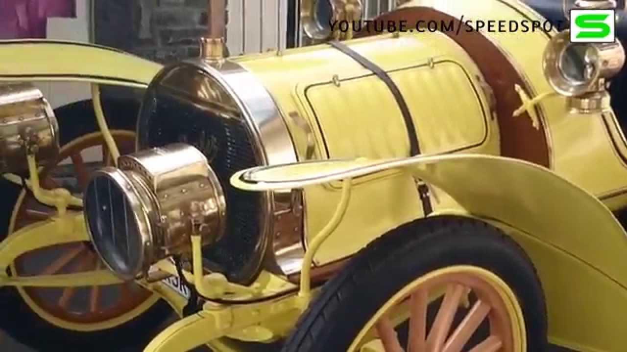1907 Spyker startup.