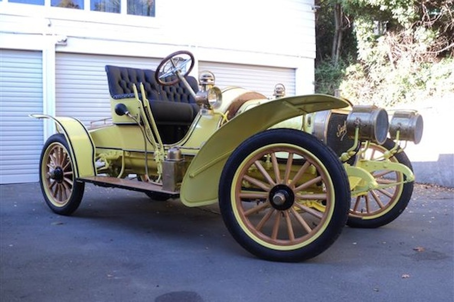 Spyker Gives a Closer Look at his 1907 Spyker Restoration Project.