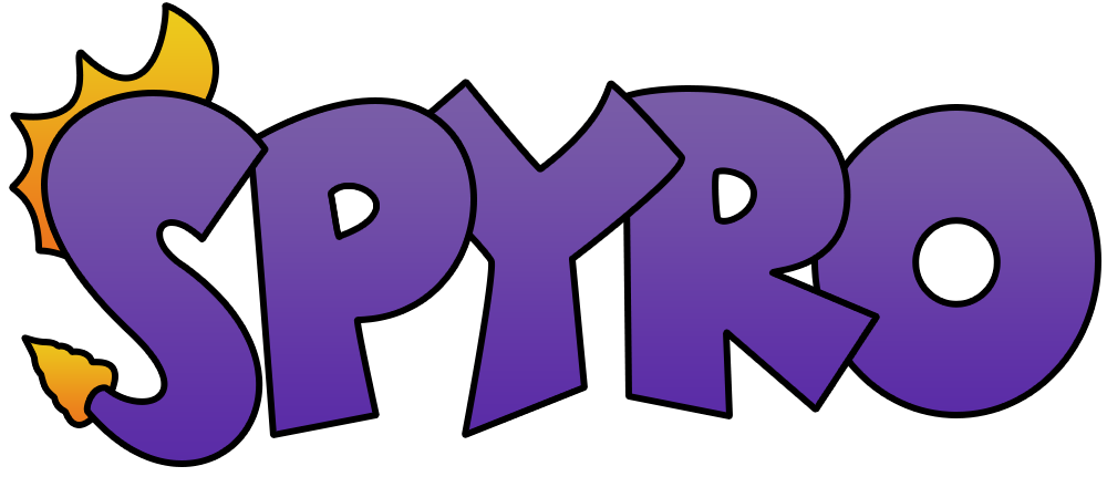 I made a minimal Spyro logo a while ago and ….