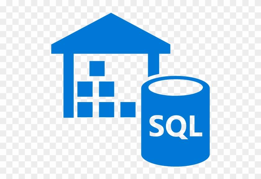 Azure Data Warehouse Icon.