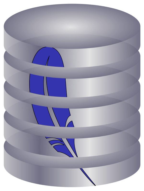 Free Clipart: SQLite manager icon.