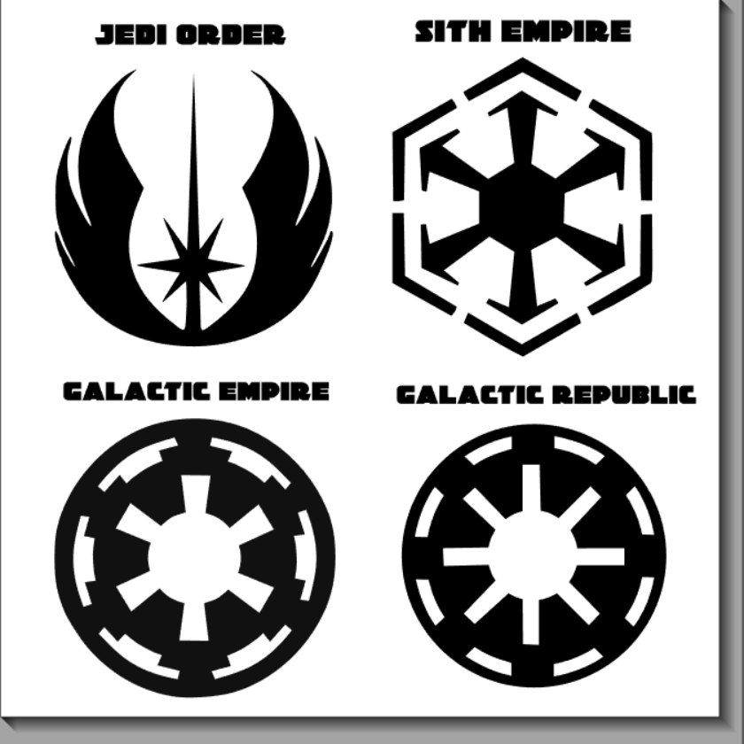 Star wars rogue squadron clipart.