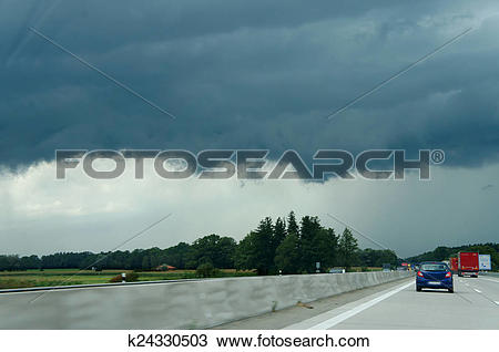 Stock Photo of Squall line k24330503.