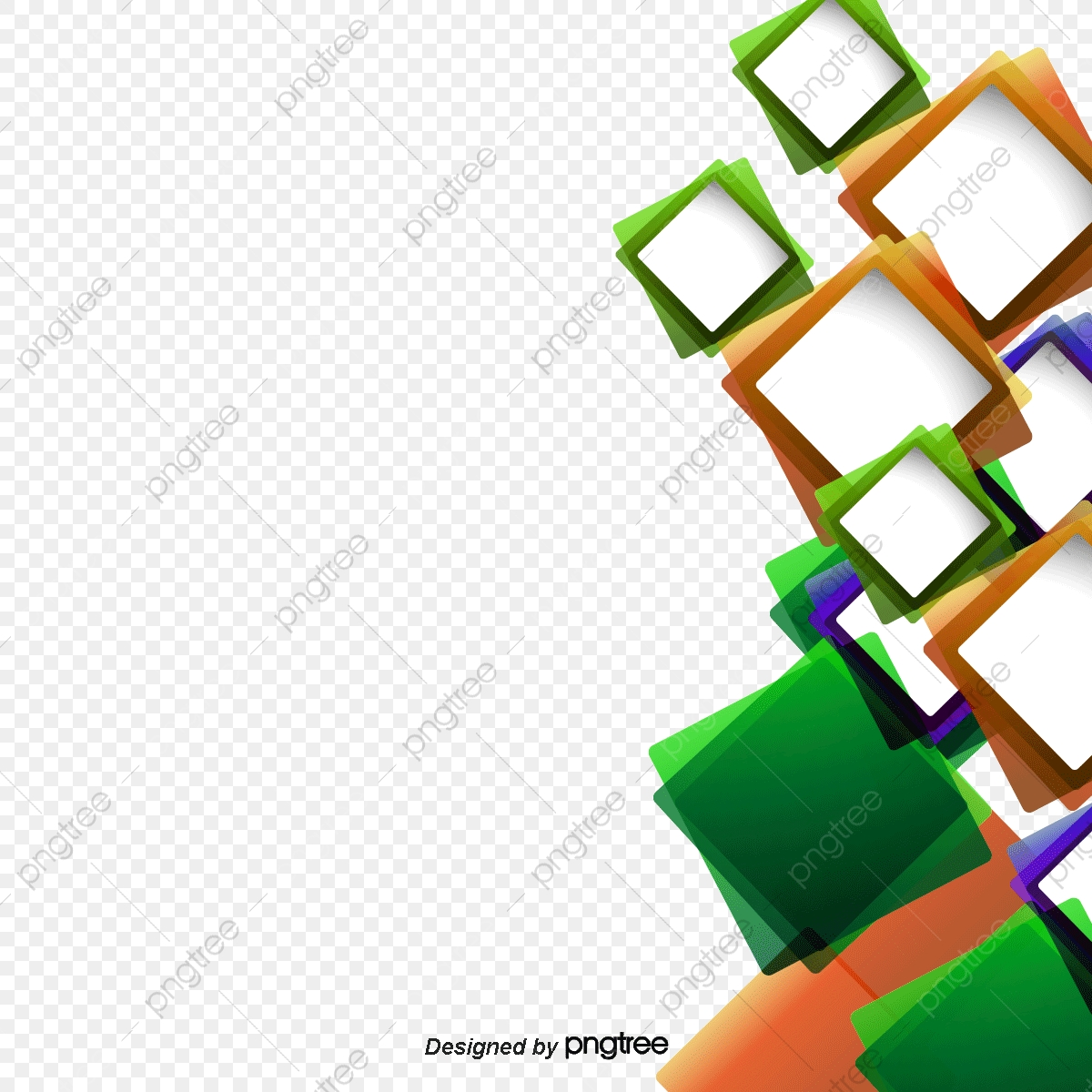 Vector Square Background, Hd, Vector, Concise PNG.
