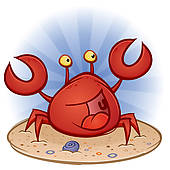 Crab Clip Art Vector Graphics. 6,928 crab EPS clipart vector and.