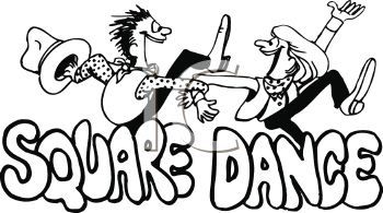 Square Dancing Clip Art.