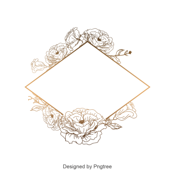 2019 的 Flower Border, Flower Border,border, Frame Vector.