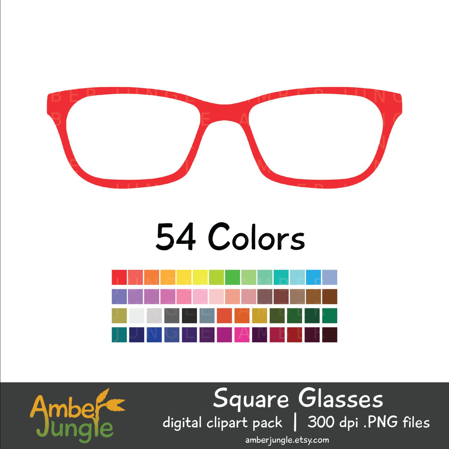 Glasses Clipart for Planner Stickers Hipster Clip Art Nerdy.