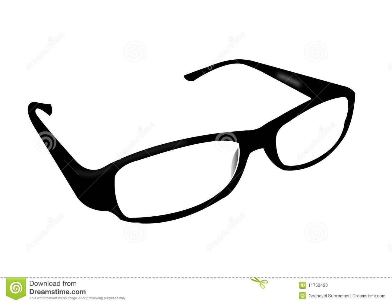 Glasses Frames Stock Illustrations.