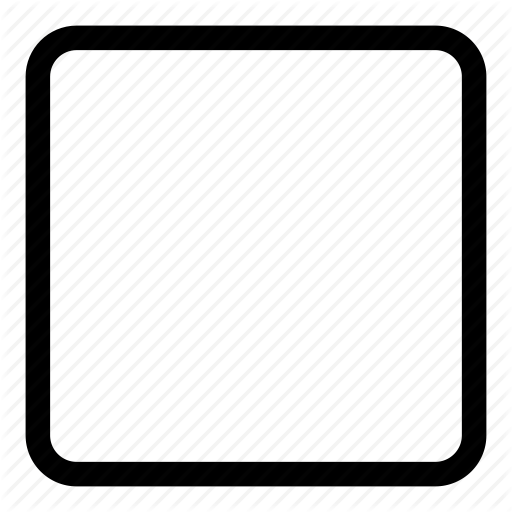 Square Icon Png #8472.