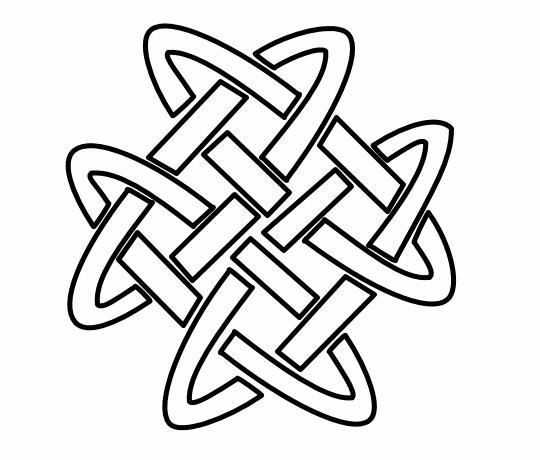 Square knot clipart etc 2.