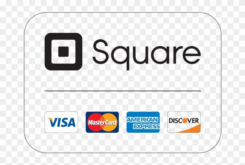 Square Credit Card Logos.