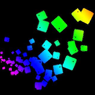 PICSART EDITING LOGO PNG AND TUTORIALS : colourful square.