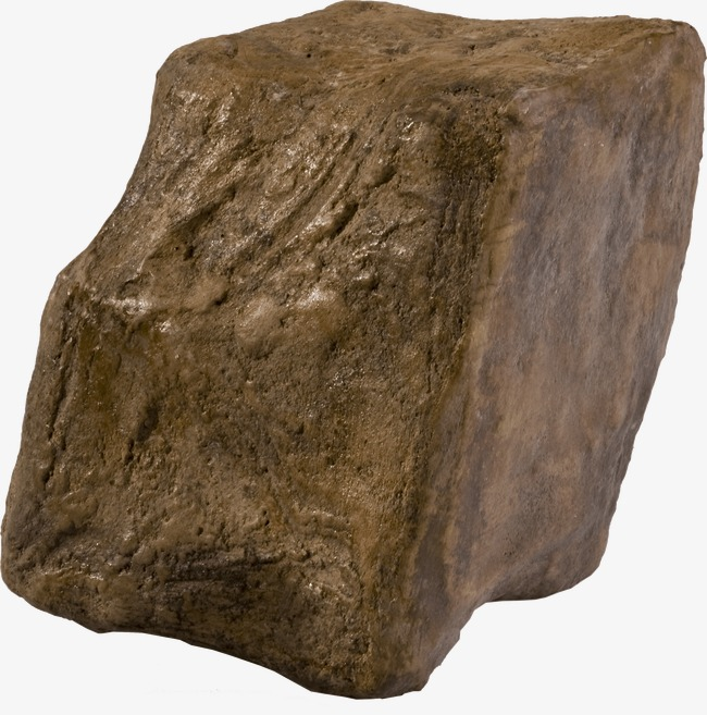Download Free png A Square Stone, Sedimentary Rock, Stone.