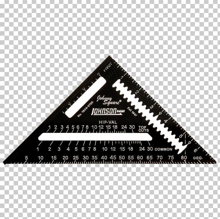 Speed Square Rafter Combination Square Tool Aluminium PNG.