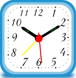 Clock Alarm Clip Art at Clker.com.