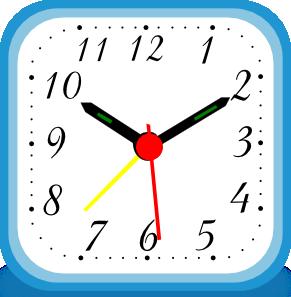 Clock Alarm Clip Art at Clker.com.