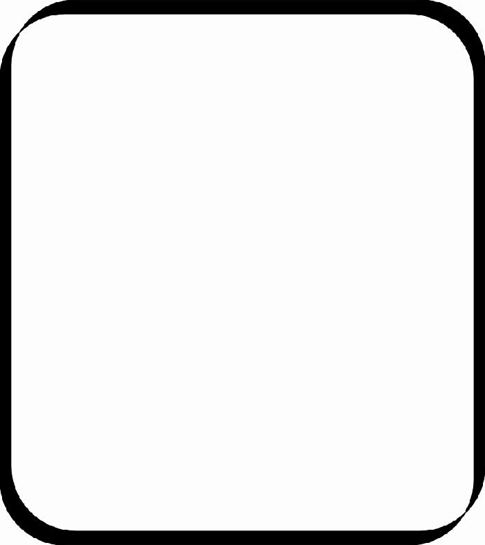White Square Clipart.